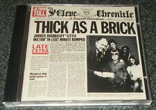 JETHRO TULL-THICK AS A BRICK-1997 REMASTERED CD+BONUS TRACKS-VIRTUALLY MINT