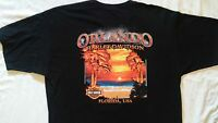 Genuine Harley Davidson Motorcycles Orlando Florida T Shirt Men's Size XL Minty