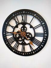 Vintage Clock Gears Wall Clock Decor Antique Victorian Farmhouse