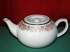 Porzellan Teekanne  ca. 0,7 ltr. Füllmenge, Motiv: Blumengirlande