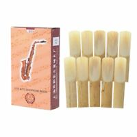 10pcs Eb Alto Saxophone Reeds Bamboo Strength Woodwind Instrument Sax Parts