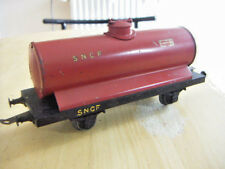 O GAUGE LR TANKER RED SNCF LOUIS ROUSSY FRANCE VGC 4 WHEEL O SCALE LE RAPIDE