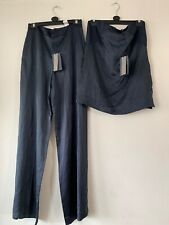 Zara STUDIO 2peice Palazzo Trousers And Bandeau Top SET. Size S