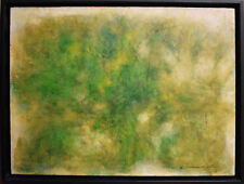 Listed American Artist George Peter, Original painting signed Abstract