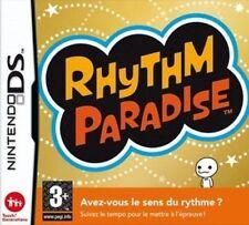 Jeu nintendo DS Rhythm Paradise - 100 % NEUF sous blister - pour DS/LITE/XL/3DS