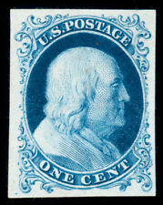 momen: US Stamps #40P3 PLATE PROOF ON INDIA LOT #70710