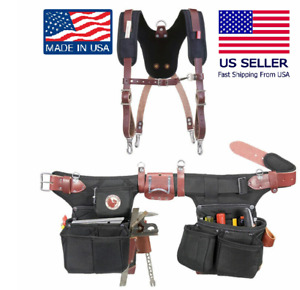Occidental Leather 9515 Adjust-to-Fit OxyFramer Belt Set Bundle w/5055 Suspender