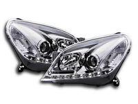Vauxhall Astra MK5 H 2004-2010 Chrome LED Daylight Running Headlights RHD NEW
