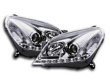 Vauxhall Astra MK5 H 2004-2010 Cromo Faros LED Luz Diurna Funcionamiento RHD Nuevo