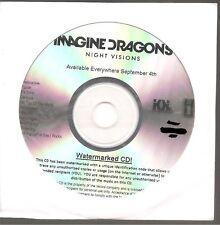 "IMAGINE DRAGONS ""Night Visions"" US Promo CD sealed"