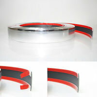 30mm Plastic Chrome Styling Decoration Strip Trim Detail Edging Grill 3 meter