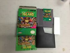 NINTENDO ADVENTURE ISLAND  COMPLETE IN BOX