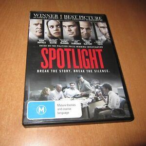 SPOTLIGHT ( DVD , REGION 4 ) MARK RUFFALO , RACHEL McADAMS
