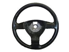 * Vw Passat B6 2005-2011 3 habló de cuero Volante 3c0419091ag