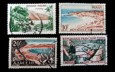 France  Postage Stamp 1957   Air Mail   Landscapes   Used