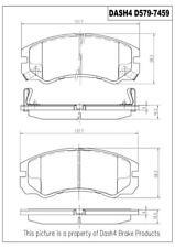 Disc Brake Pad Set-CERAMIC PADS Front Dash 4 Brake CD579