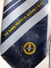 NECKTIE: THE TAIWAN PROVINCIAL ASSEMBLY R.O.C. sealed in box
