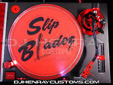 DHC SLIP BLADEZ scratch Dj Slipmats sl1200mk2 mk5 m3d m5g technics turntable