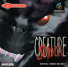 PHILIPS CDI CREATURE SHOCK 2-DISC GAME SPIEL JEU CD-I GAME MAGNAVOX