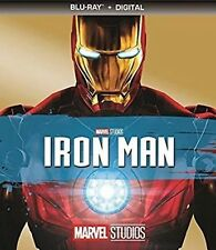 MARVEL STUDIOS IRON MAN  (BLU-RAY+DIGITAL)NO SLIPCOVER NEW