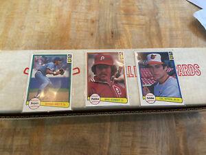 1982 Donruss Factory Baseball Card Complete Set Cal Ripken Jr Rookie RC PSS ?
