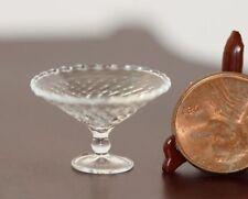 Dollhouse Miniature Artisan Glass Crystalline Dish by Philip Grenyer