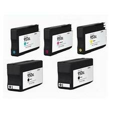 5-PK Compatible HP ink cartridges for HP 950XL 951 XL OfficeJet Pro 8100 8600