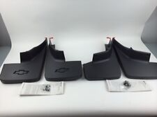 2014-2017 SILVERADO MOLDED SPLASH GUARDS MUD FLAPS FRONT & REAR NEW BODY STYLE