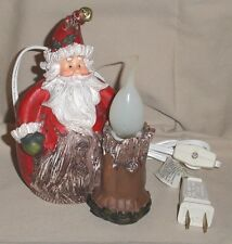 "Old World Christmas Vintage Santa Claus Nite Lite 5 1/2"" Tall Country Home Decor"