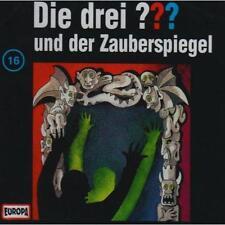 Die drei ??? (16) und der Zauberspiegel von Jens Wawrczeck und Oliver Rohrbeck