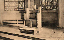 Vintage Postcard of the ARCHBISHOP'S CHAIR IN CANTERBURY CATHEDRAL, KENT  (A2)