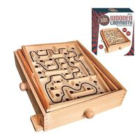 Toy Maze Game, Traditional Wooden Labyrinth