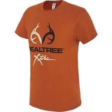 New Realtree Xtra Men's Hunting Antlers Graphic T-shirt