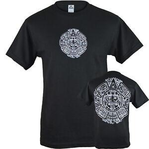 Mayan Calendar Shirt Maya Nation Aztec Calendar Tee