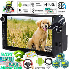 Touchscreen Car Stereo Radio Double DIN GPS Wifi Player+Camera For Chevrolet GMC