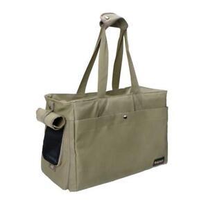 Pet Carrier Tote Bag Ibiyaya Breathable Handbag Portable Lightweight Light Green