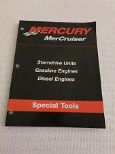 Mercury MerCruiser, Special Tools: Sterndrive Unites, Gasoline / Diesel Engines