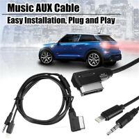40cm Music AUX Cable 09-14 For Mercedes-Benz B/C/ CL/CLS/E/S/SL /SLK /SLS/ML/GL