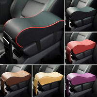 Multi Color PU Memory Foam Console Armrest Box Cushion Pad Mat Set fit Car SUV