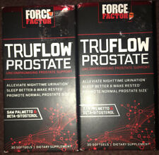 2 FORCE FACTOR TRUFLOW PROSTATE DIETARY SUPPLEMENT 30 SOFT GELS EXP.03/2021