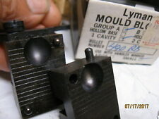 NEW Lyman 490 RB Round Ball Ideal Mold Mould Blocks Reloading Black Powder Lead