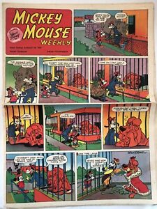 Walt Disney Mickey Mouse Weekly August 28, 1954 Very Rare
