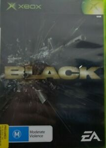Black - Original Xbox - Complete