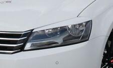 RDX Scheinwerferblenden schwarz matt für VW Passat B7 / 3C