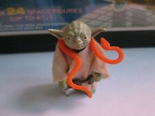 Master Yoda With Orange Snake - Vintage Star Wars Action Figure (1980) by Kenner