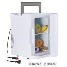 Getränkekühler: Mobiler Mini-Kühlschrank mit Wärmefunktion, 12 & 230 V, 8 Liter