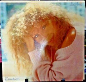 BARBRA STREISAND Emotion Album Released 1984 Vinyl/Record  Collection US pressed