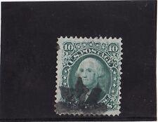 Briefmarken USA Mi. Nr. 20 W 10 C, Waffeleinpressung