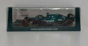 Model Car Diecast 1:43 Spark F1 Aston Martin Vettel 2021 Modeling Static