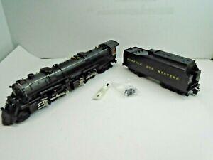 O Gauge Lionel#6-28052 N&W Class A 2-6-6-4 Articulated Steam Locomotive & Tender